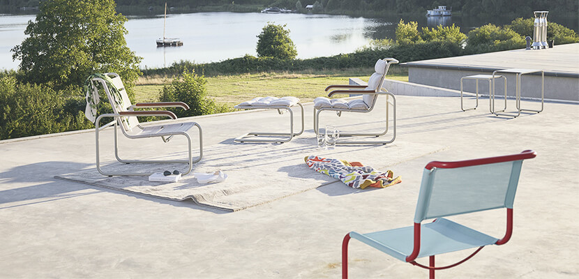 Thonet All Seasons: Schöne Outdoor- & Gartenmöbel